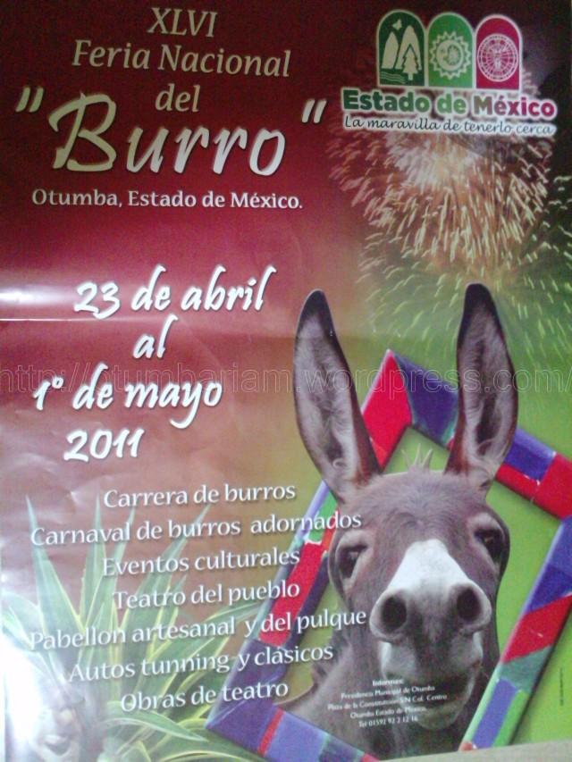 programa de feria del burro otumba 2011